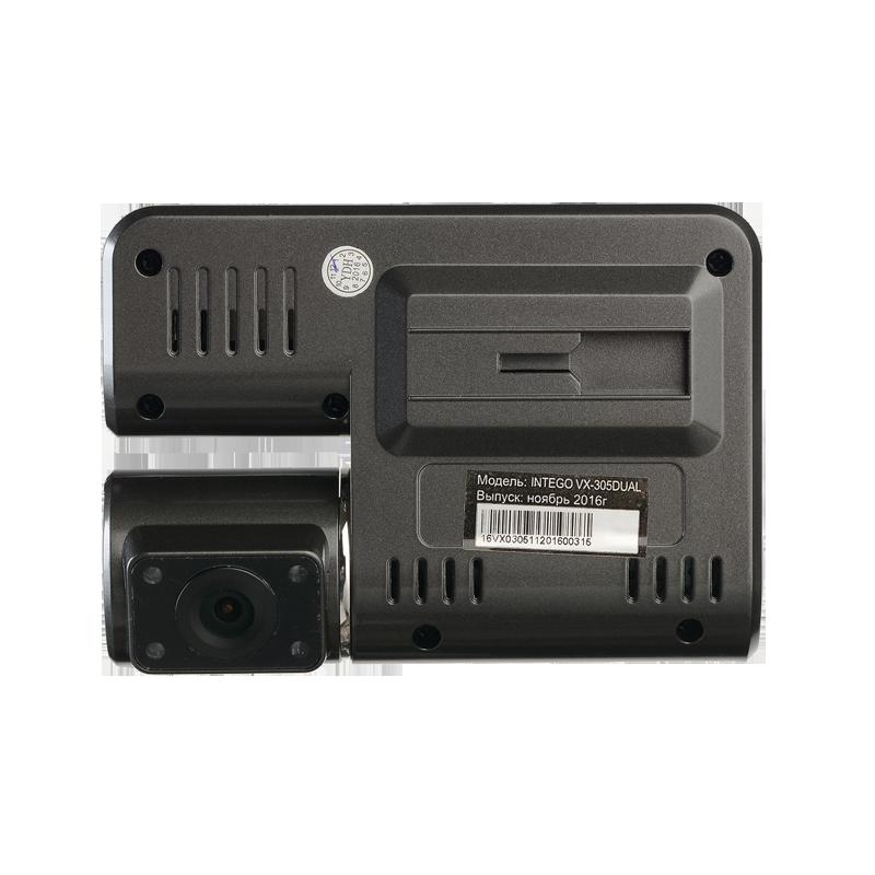 Видеорегистратор intego vx 305 dual: характеристики, отзывы, фото.